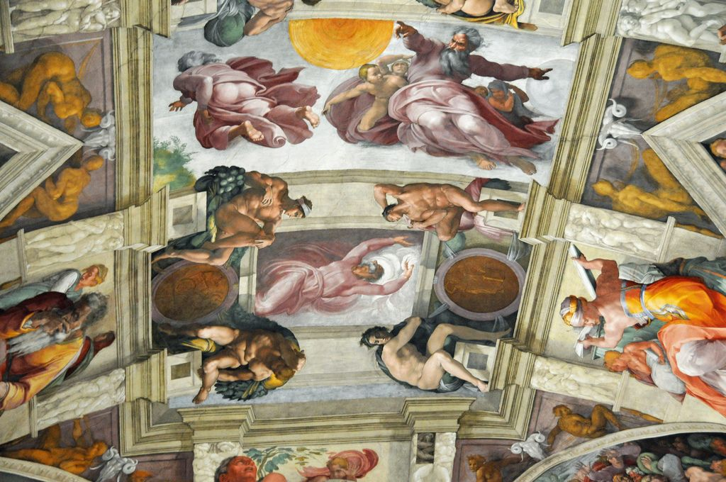 sistine chapel7 Inside the Sistine Chapel