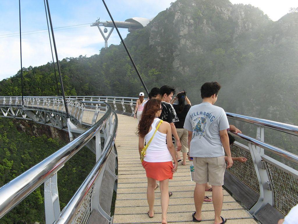langkawi bridge5 Langkawi Sky Bridge in Malaysia