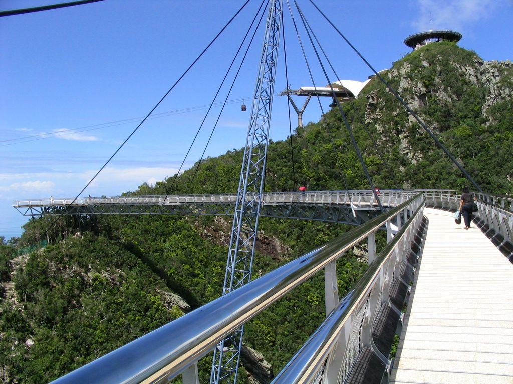 langkawi bridge8 Langkawi Sky Bridge in Malaysia