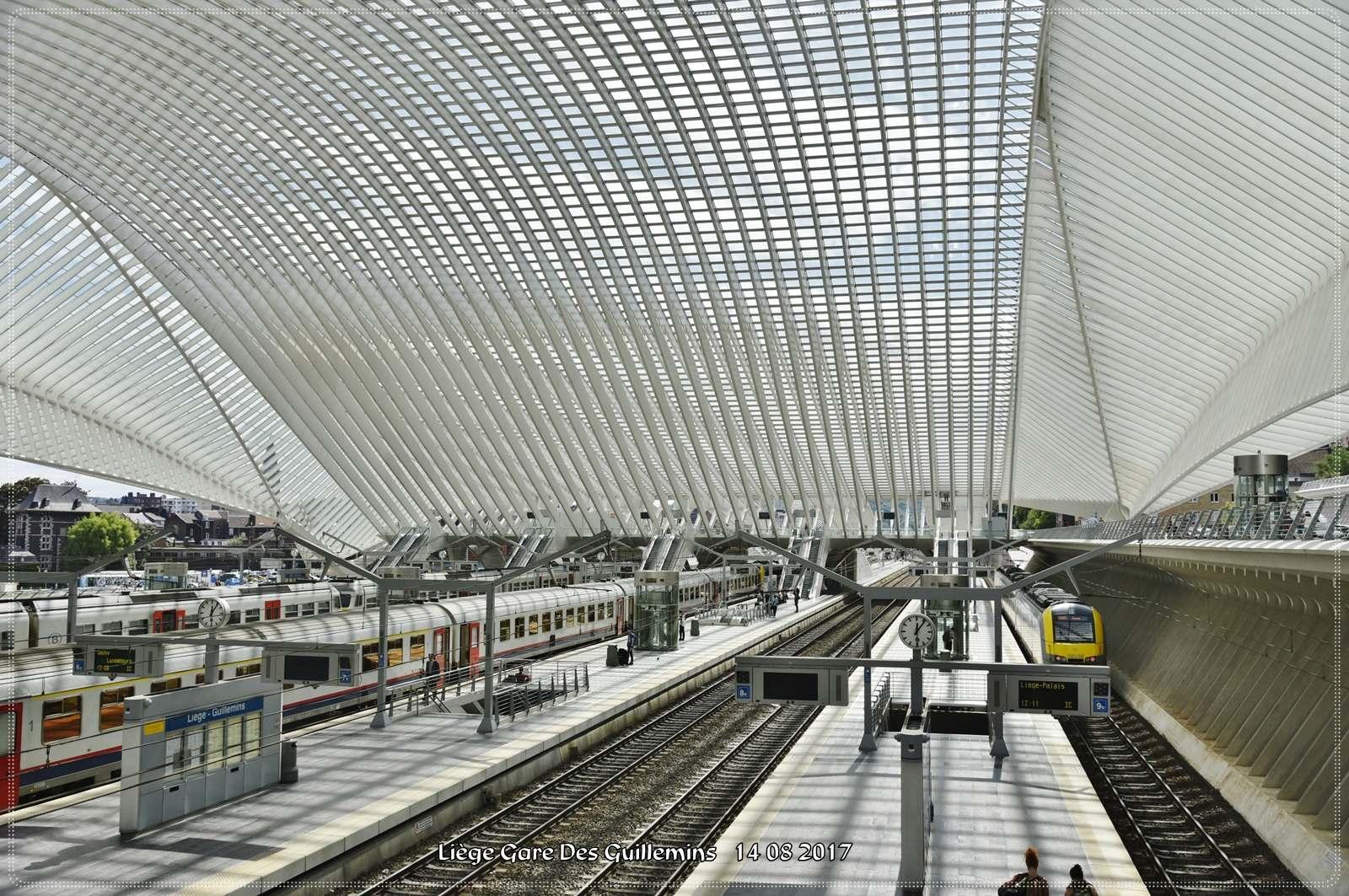 gare des guillemins1 Liege Guillemins Railway Station by Santiago Calatrava