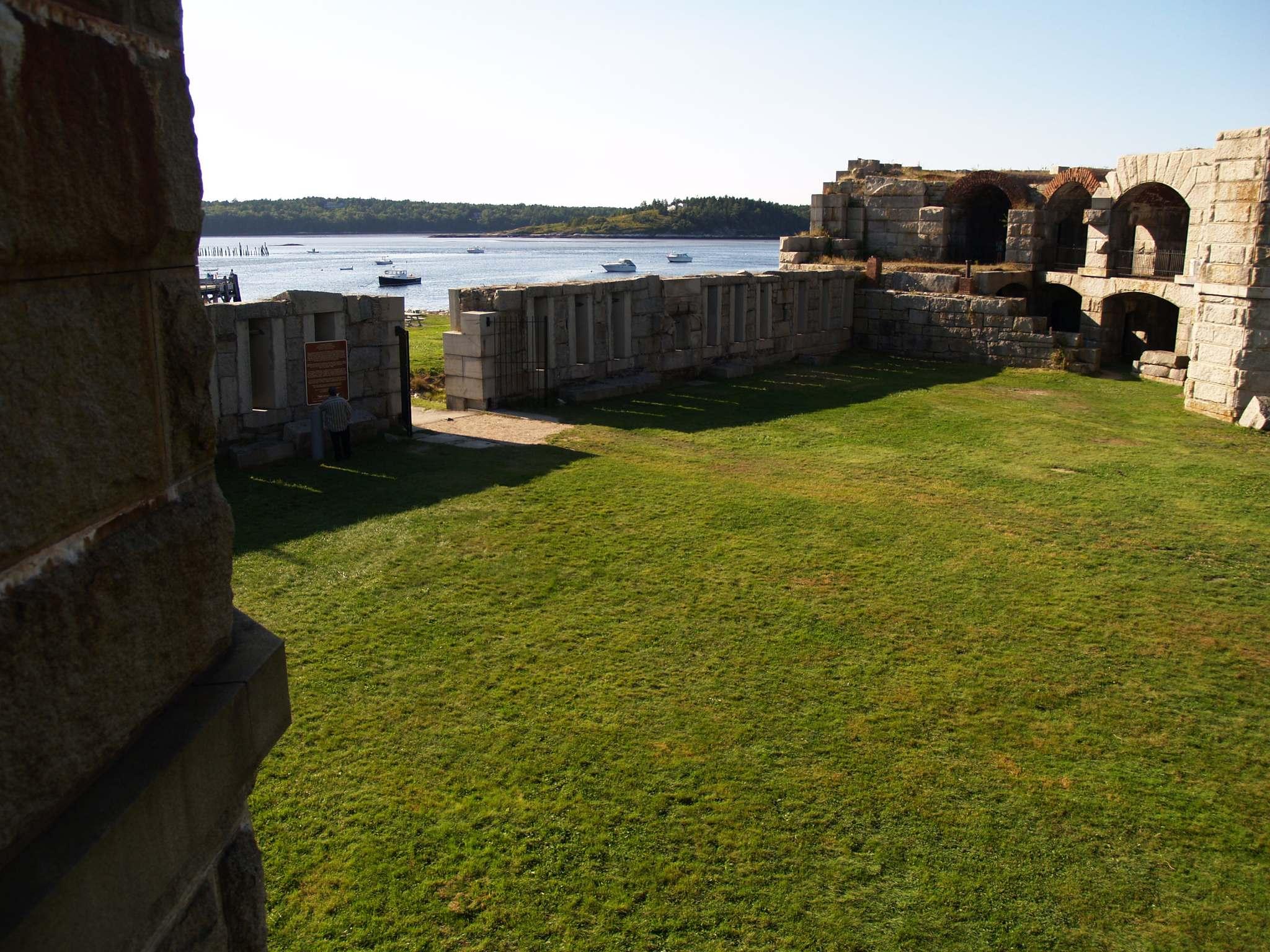 fort popham3 Majestic Fort Popham, Maine