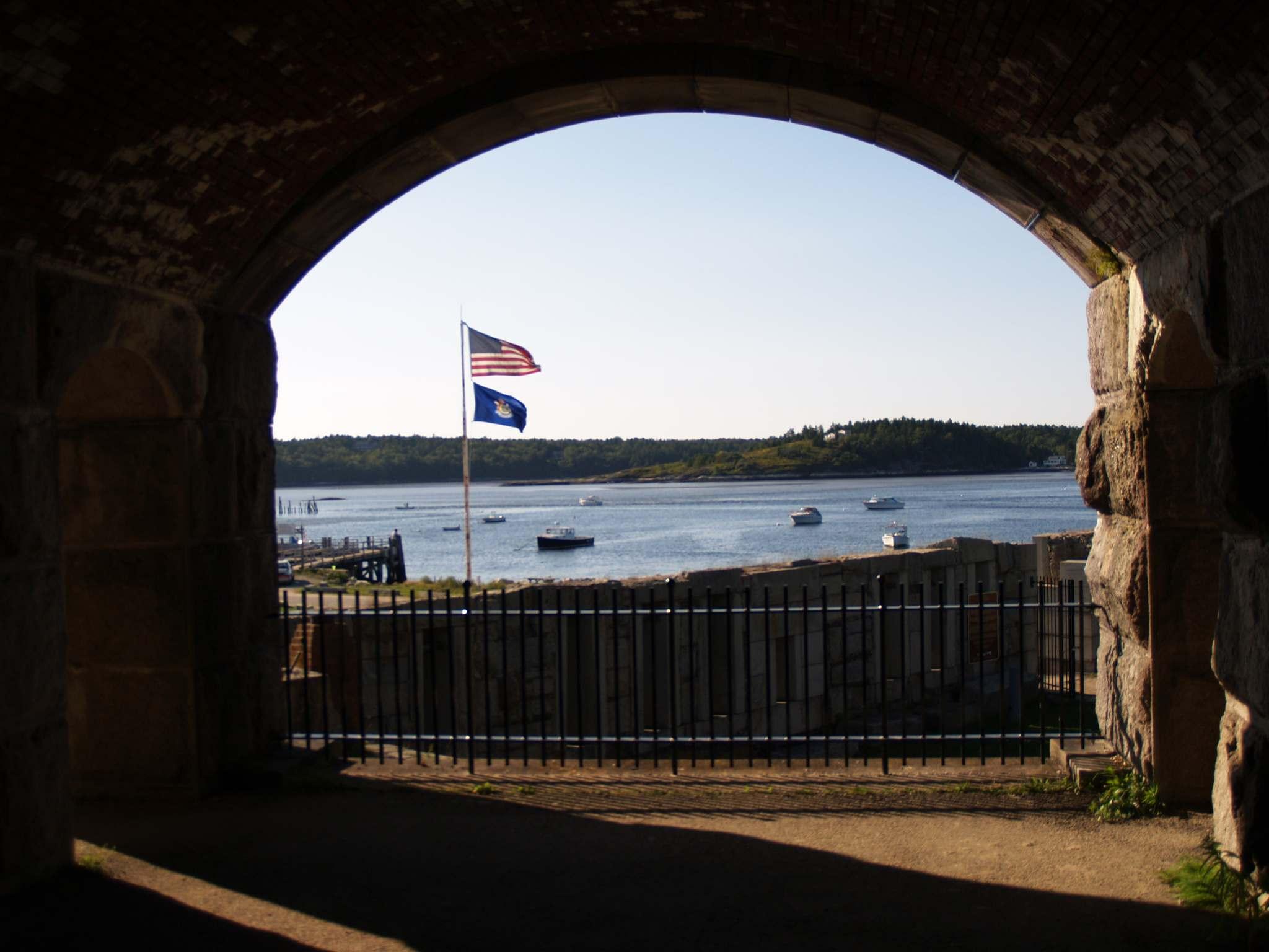 fort popham9 Majestic Fort Popham, Maine