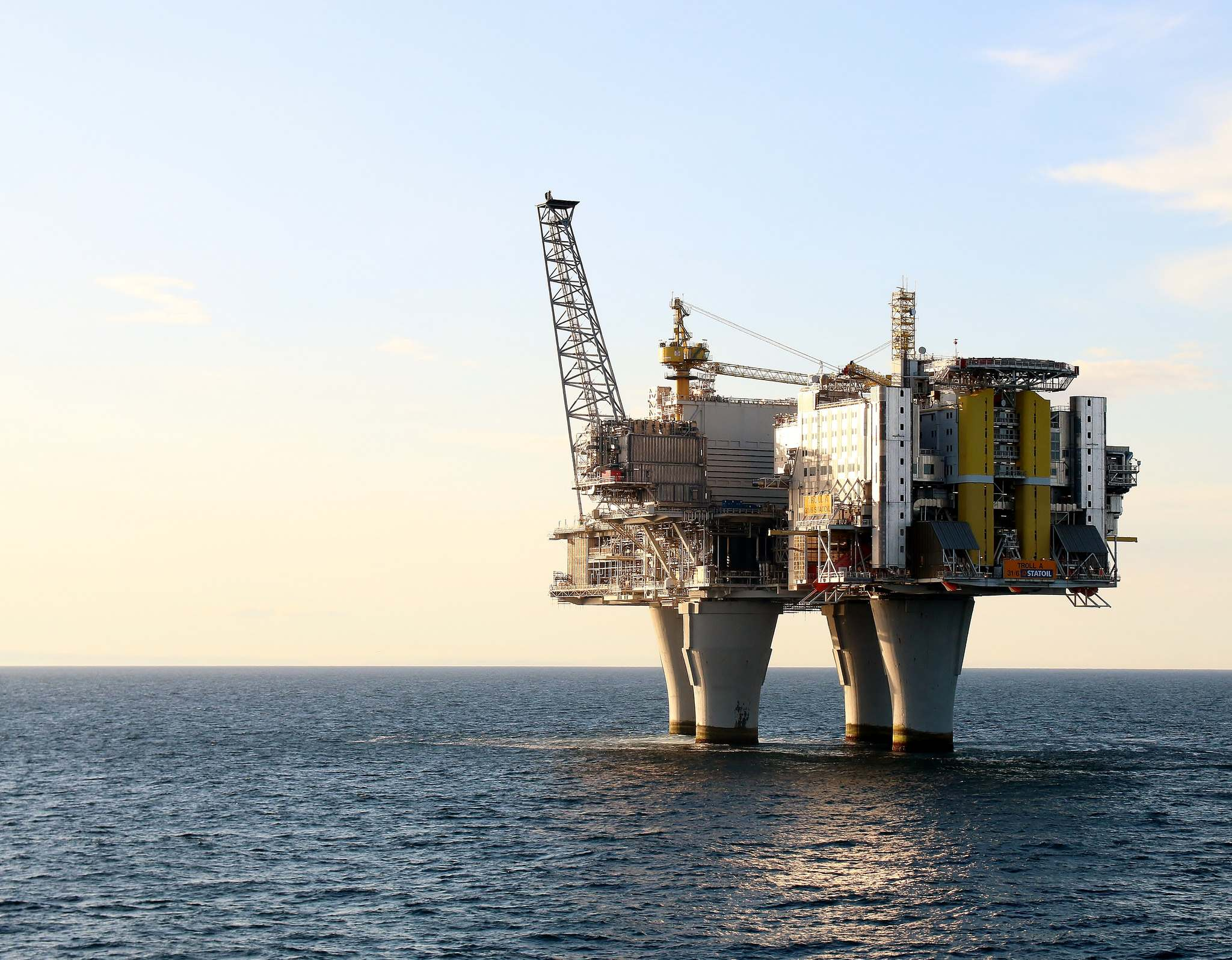 troll a Megastructure   Troll A Gas Platform, Norway