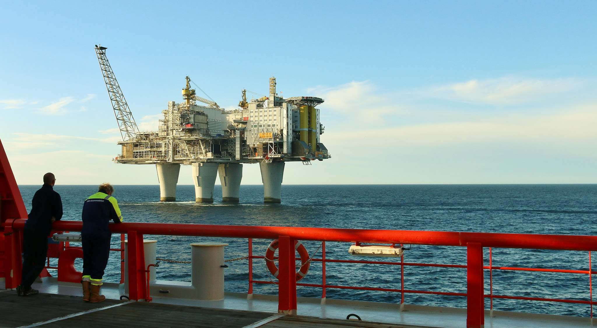 troll a1 Megastructure   Troll A Gas Platform, Norway