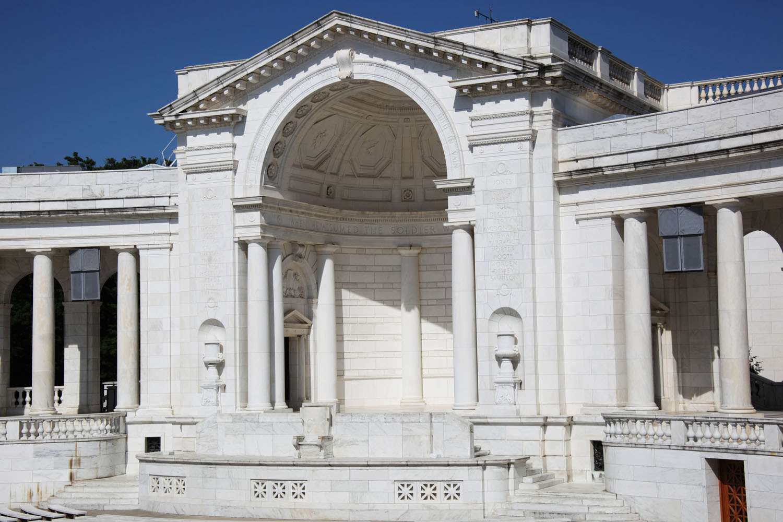 memorial amphitheater2 The Memorial Amphitheater at Arlington National Cemetery