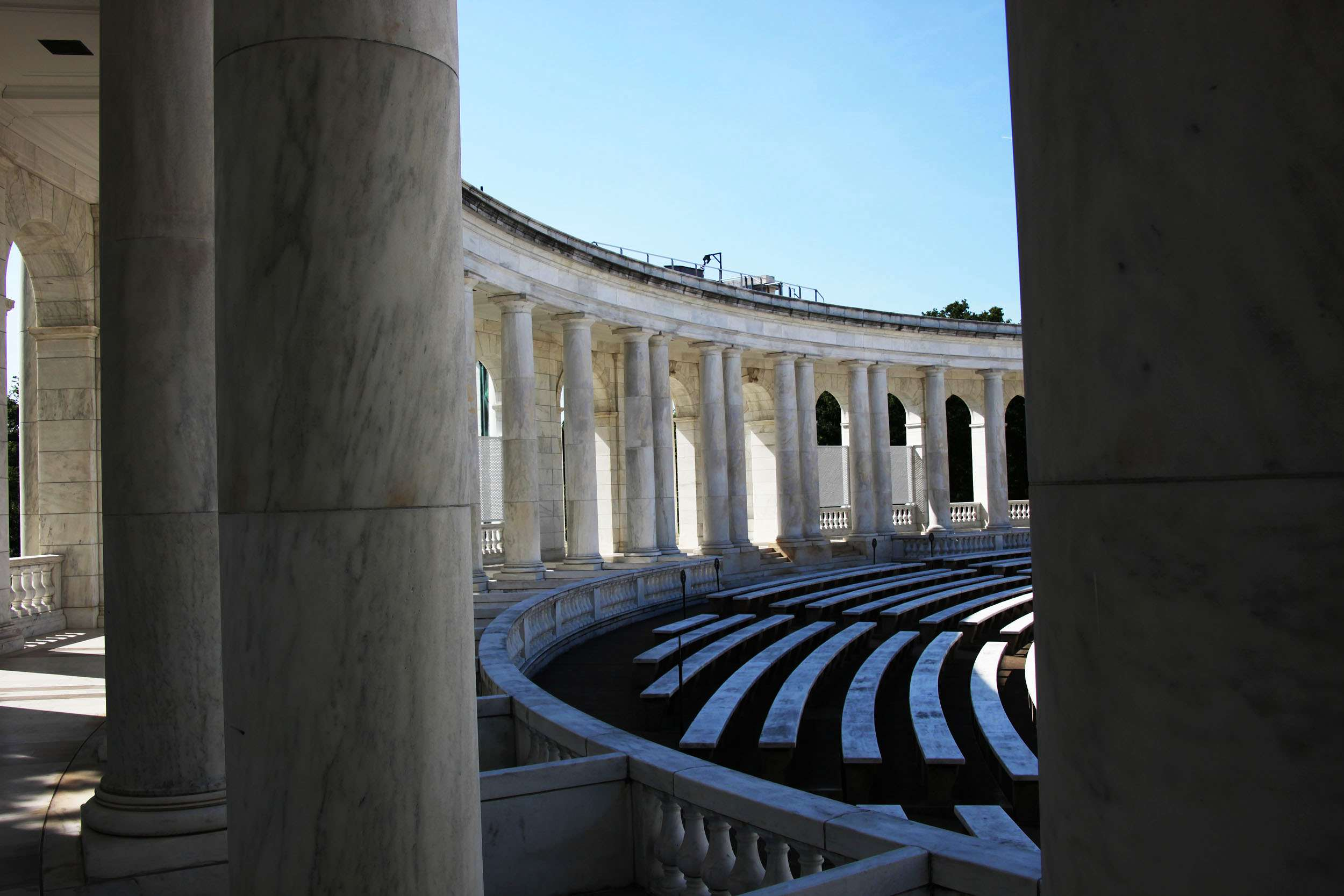 memorial amphitheater6 The Memorial Amphitheater at Arlington National Cemetery