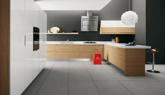 modern kitchen17 Modern Kitchen Design Inspirations