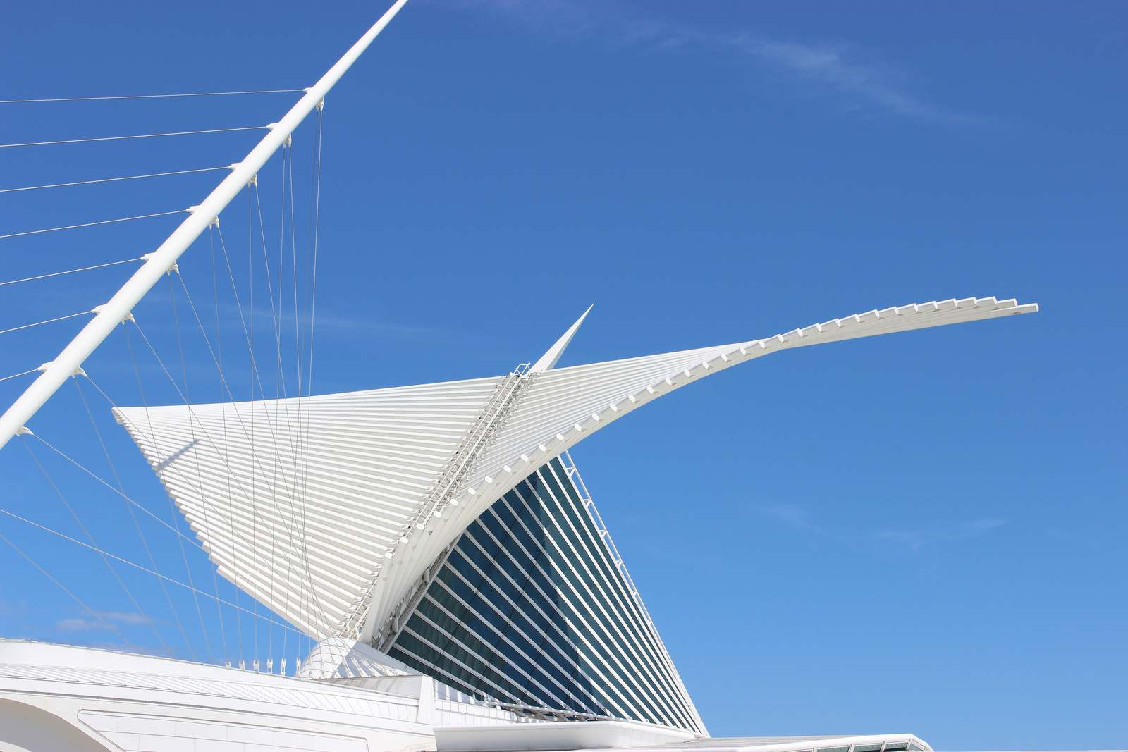 milwaukee art museum4 Modern Milwaukee Art Museum by Santiago Calatrava