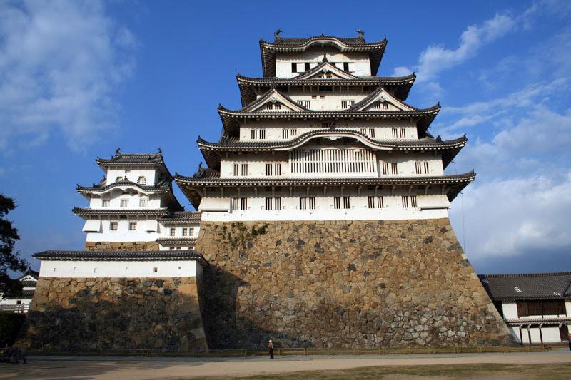 himeji castle14 Most Impressive Castles of the World   Himeji