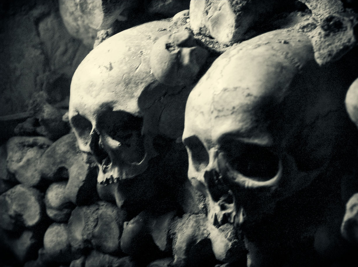 mysterious catacombs paris The Mysterious Catacombs of Paris