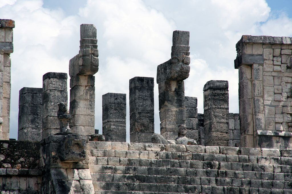 chichen itza7 Mysterious Chichen Itza   Mayan Ruins in Mexico