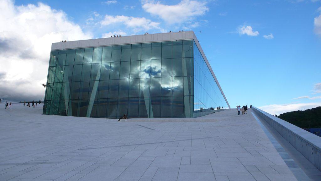 oslo opera1 The Norwegian Opera House in Oslo