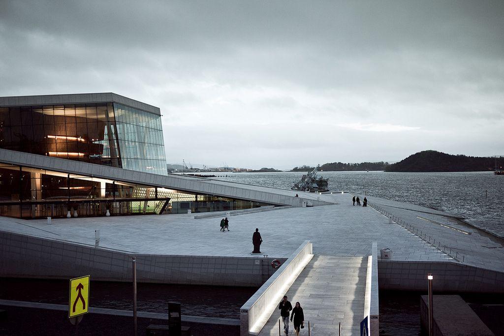 oslo opera4 The Norwegian Opera House in Oslo