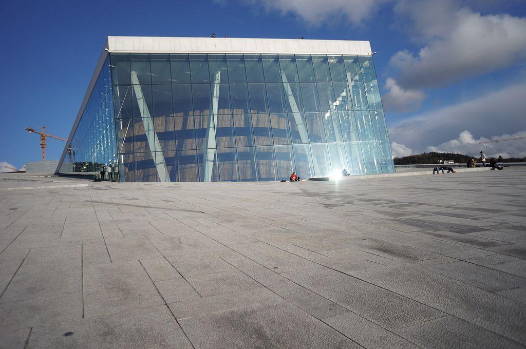 oslo opera5 The Norwegian Opera House in Oslo