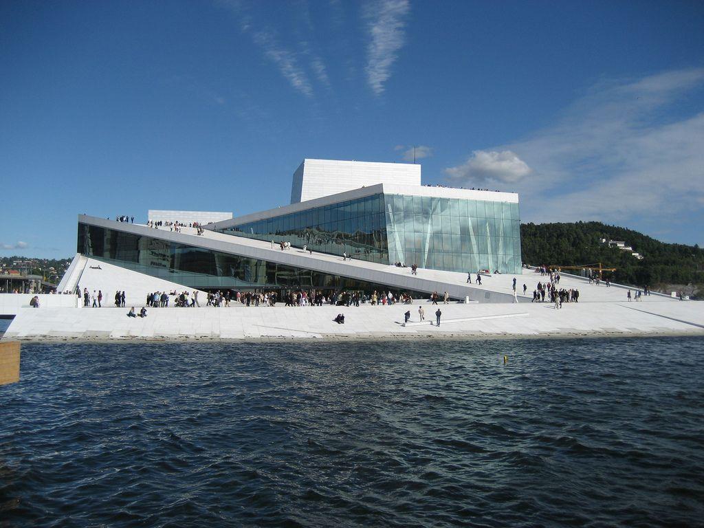 oslo opera6 The Norwegian Opera House in Oslo
