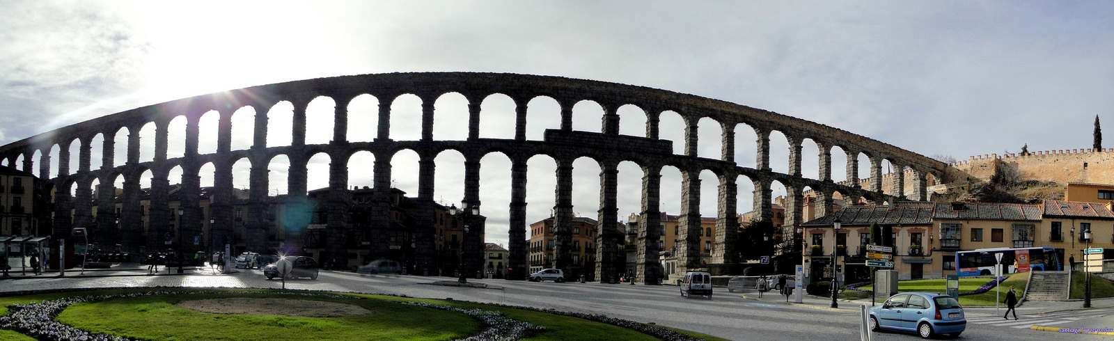 segovia Picturesque Town of Segovia and Monuments