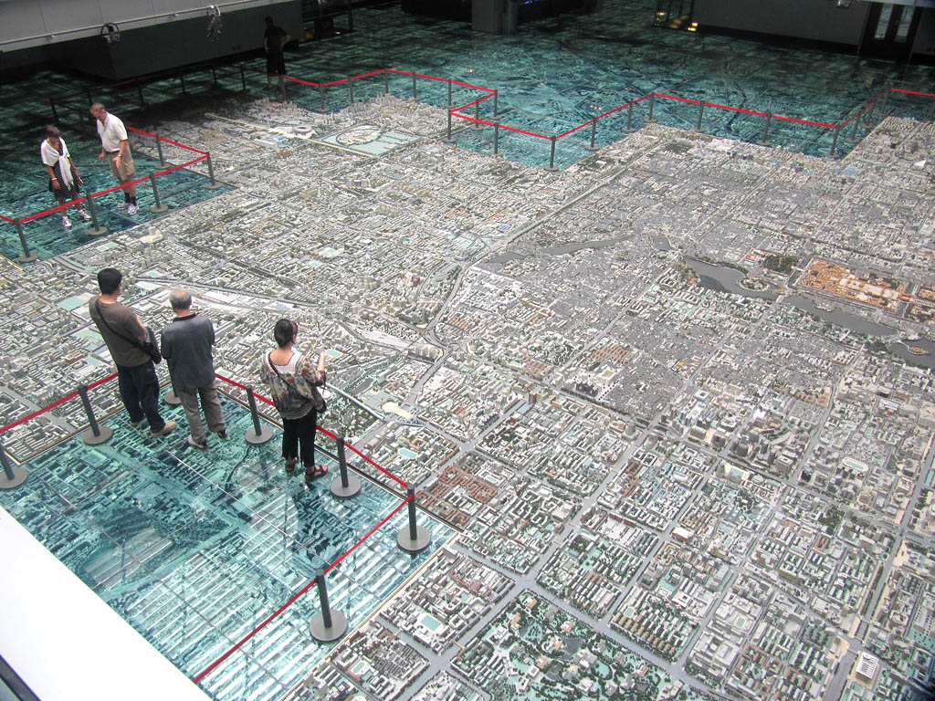 beijing museum Really Cool to See Beijings Urban Planning Museum