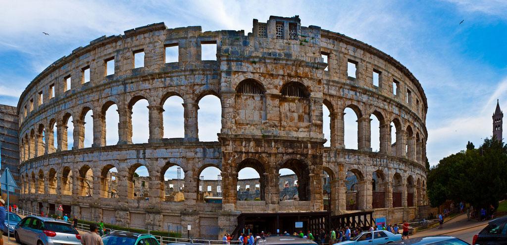 croatia pula1 Roman Arena in Pula, Croatia