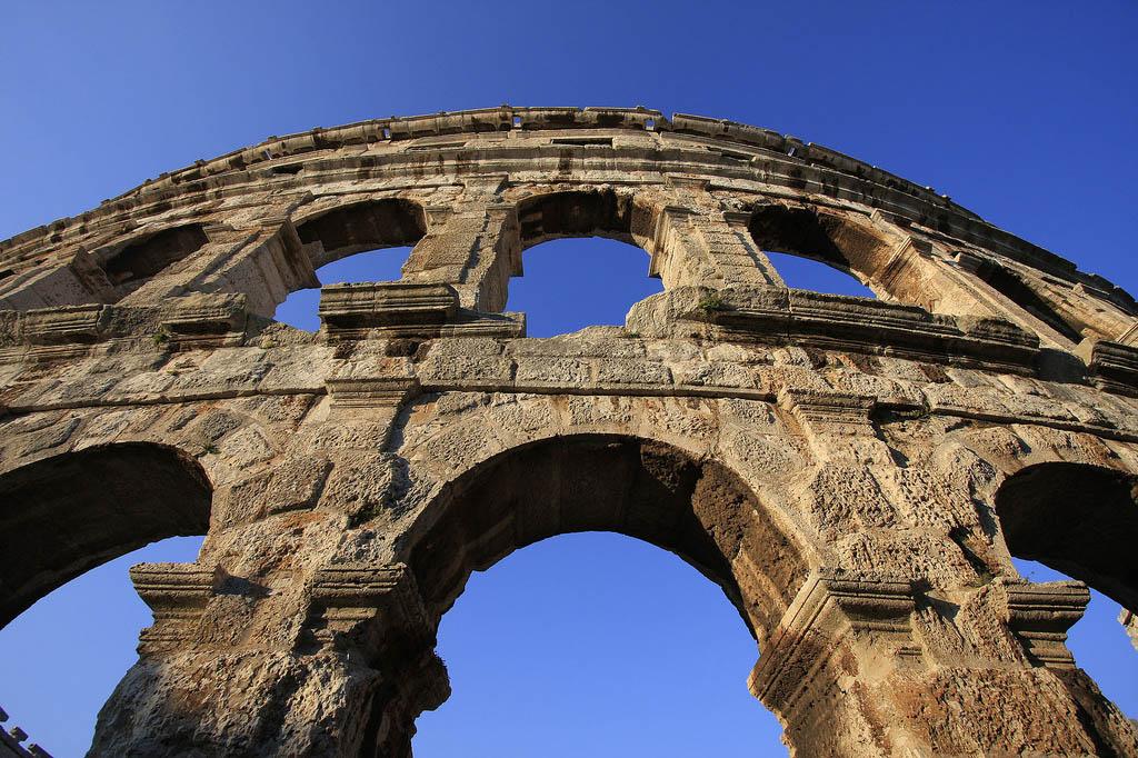 croatia pula10 Roman Arena in Pula, Croatia