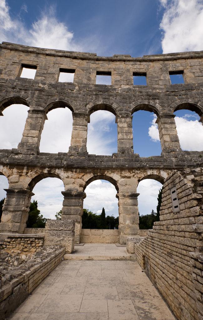croatia pula11 Roman Arena in Pula, Croatia