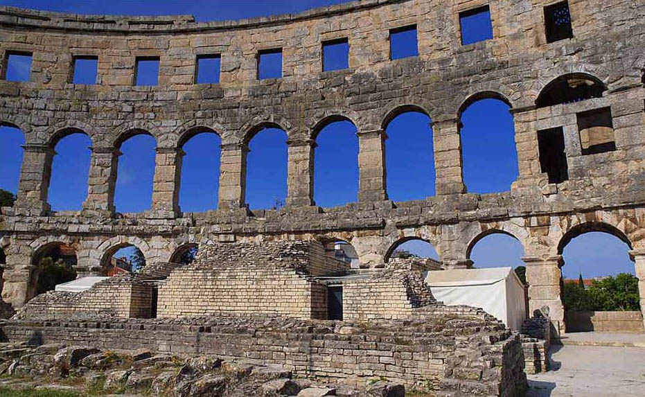 croatia pula14 Roman Arena in Pula, Croatia