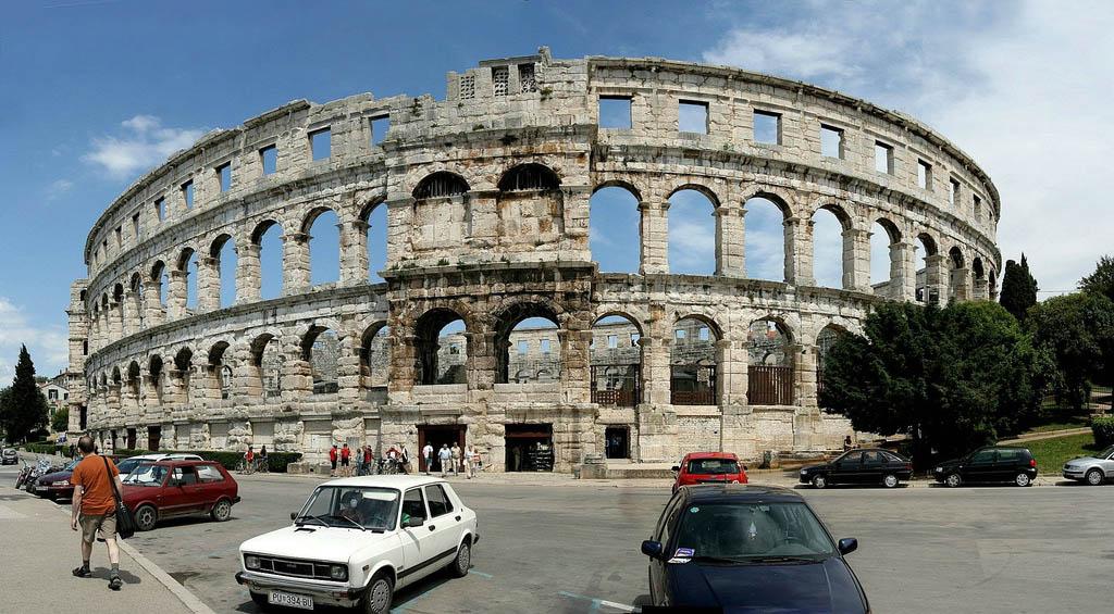 croatia pula2 Roman Arena in Pula, Croatia