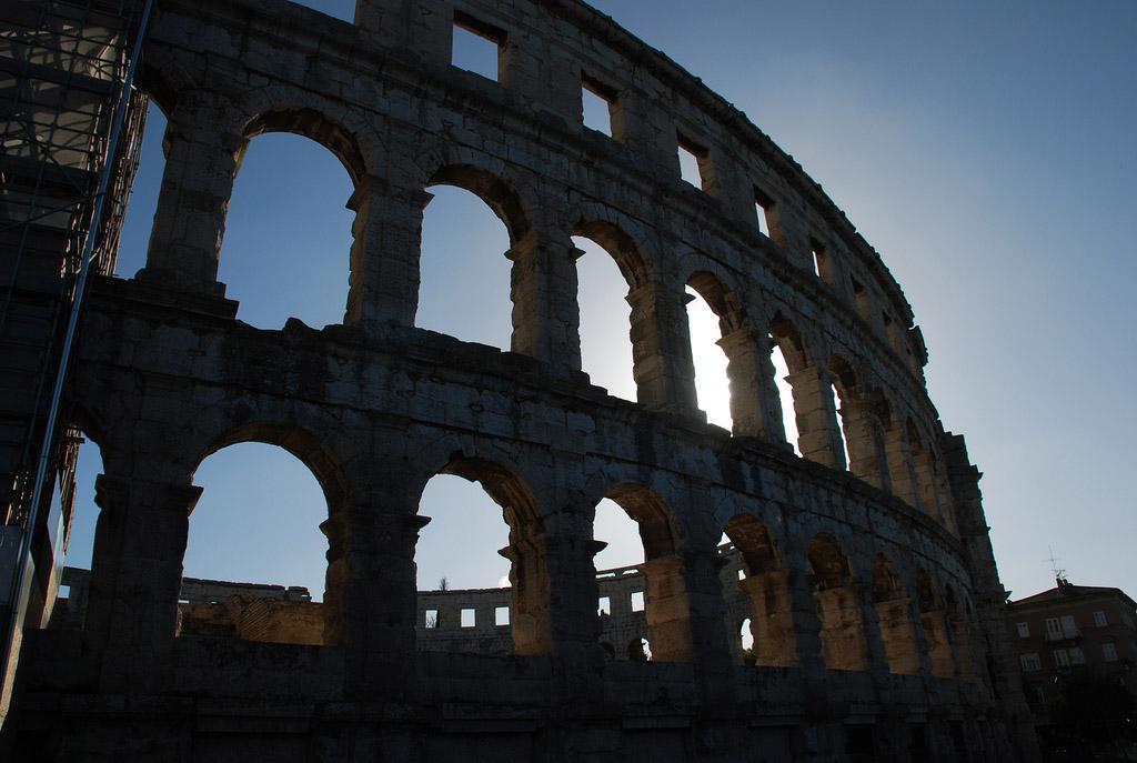 croatia pula5 Roman Arena in Pula, Croatia