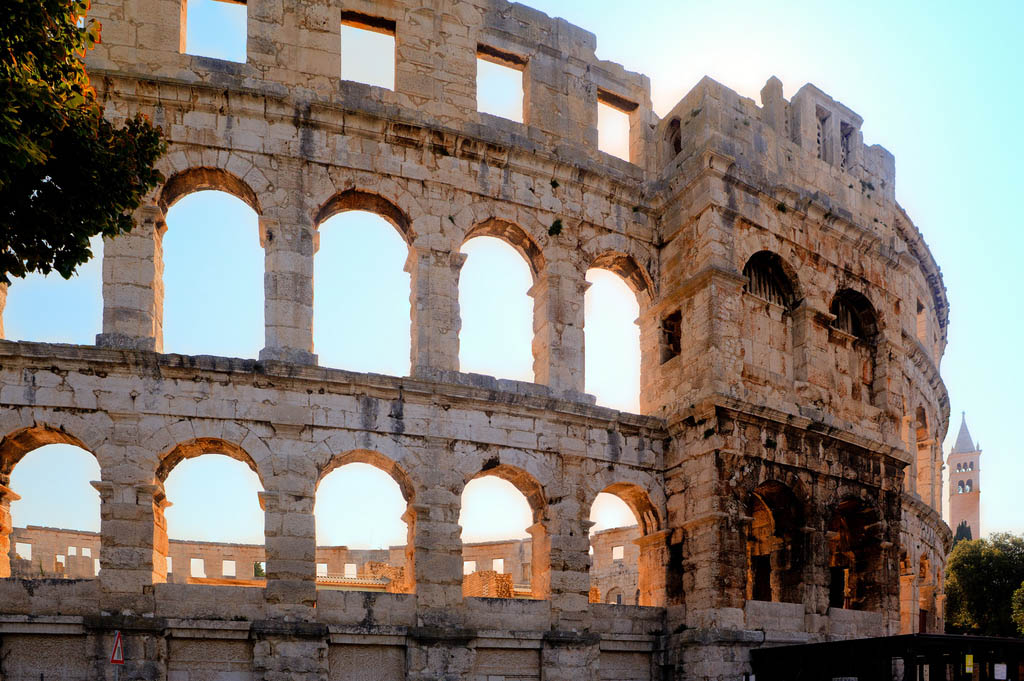 croatia pula6 Roman Arena in Pula, Croatia
