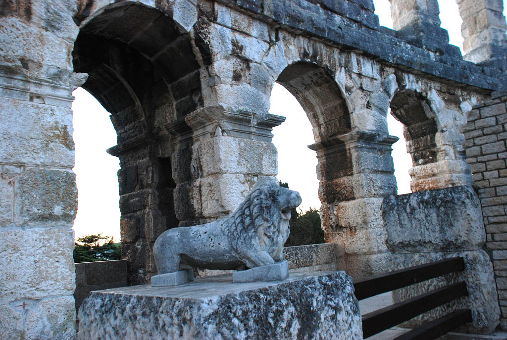 croatia pula9 Roman Arena in Pula, Croatia