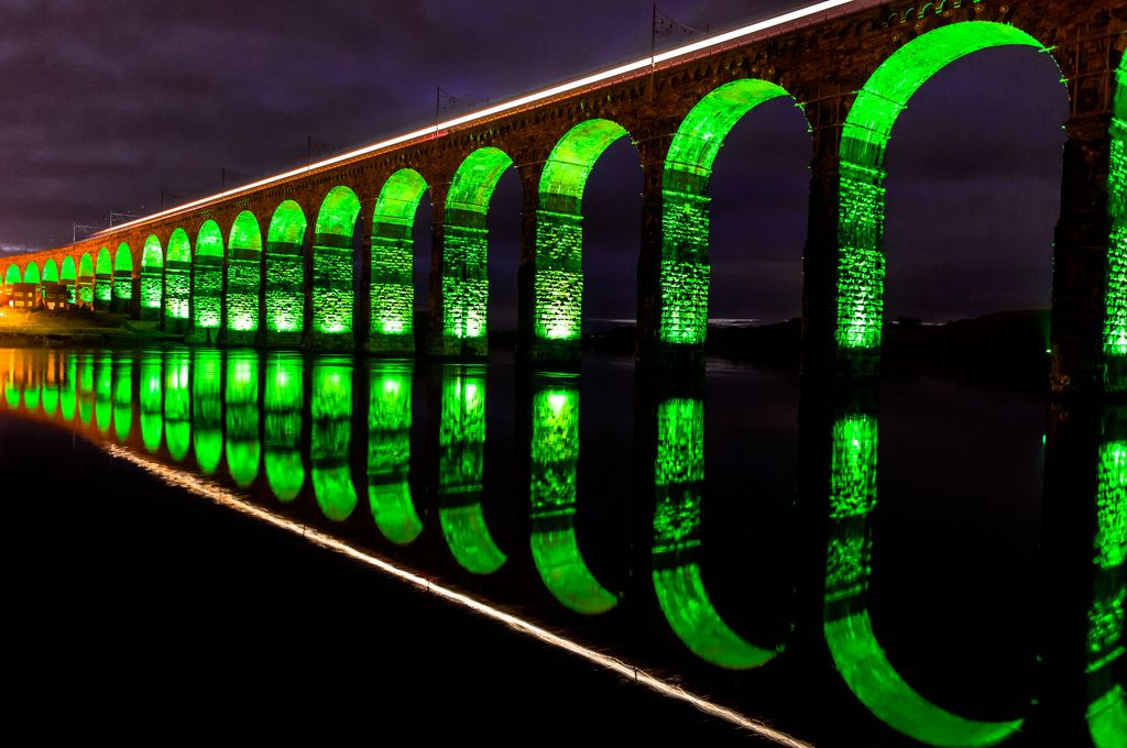 royal border bridge Royal Border Bridge at Berwick upon Tweed