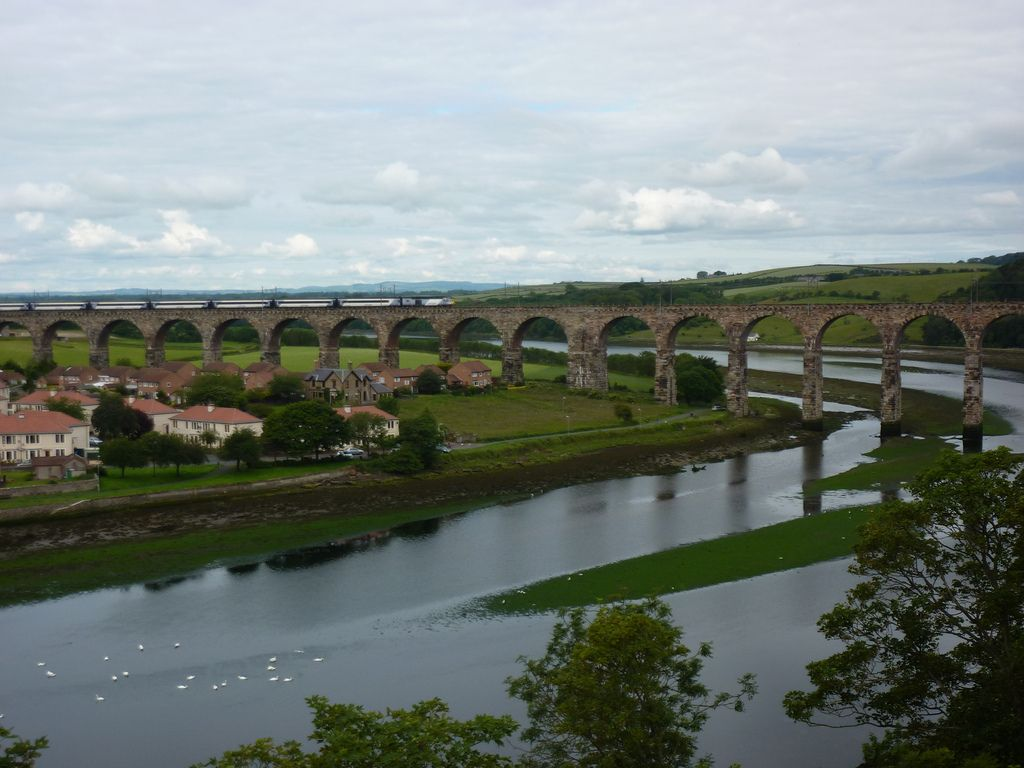 royal border bridge6 Royal Border Bridge at Berwick upon Tweed