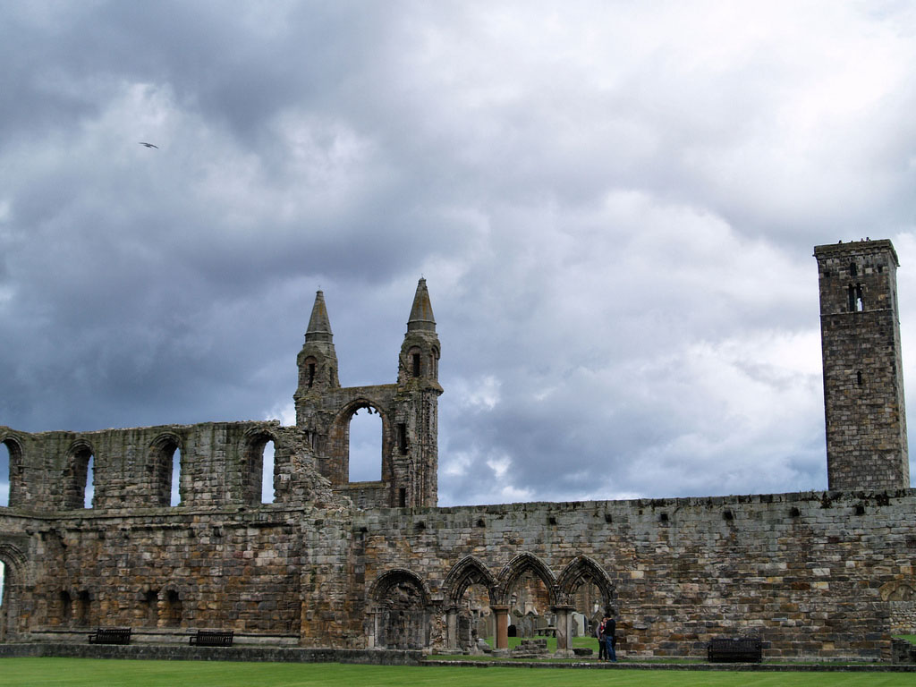 saint andrew scotland5 Saint Andrews Cathedral Ruins   Place to See in Scotland