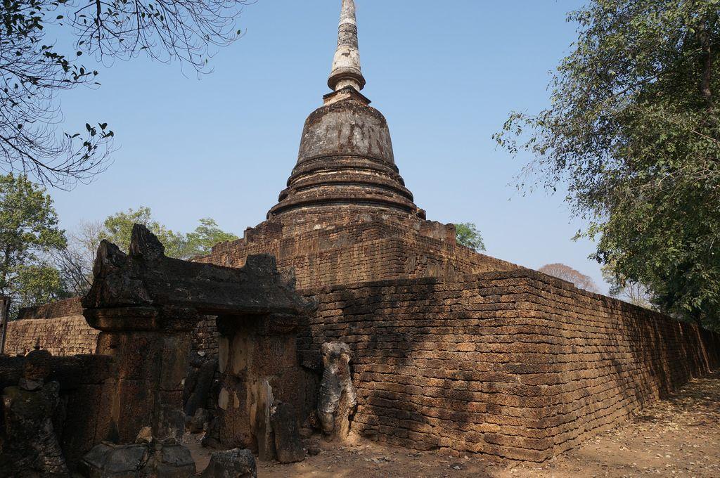 satchanalai8 Si Satchanalai Historical Park in Thailand