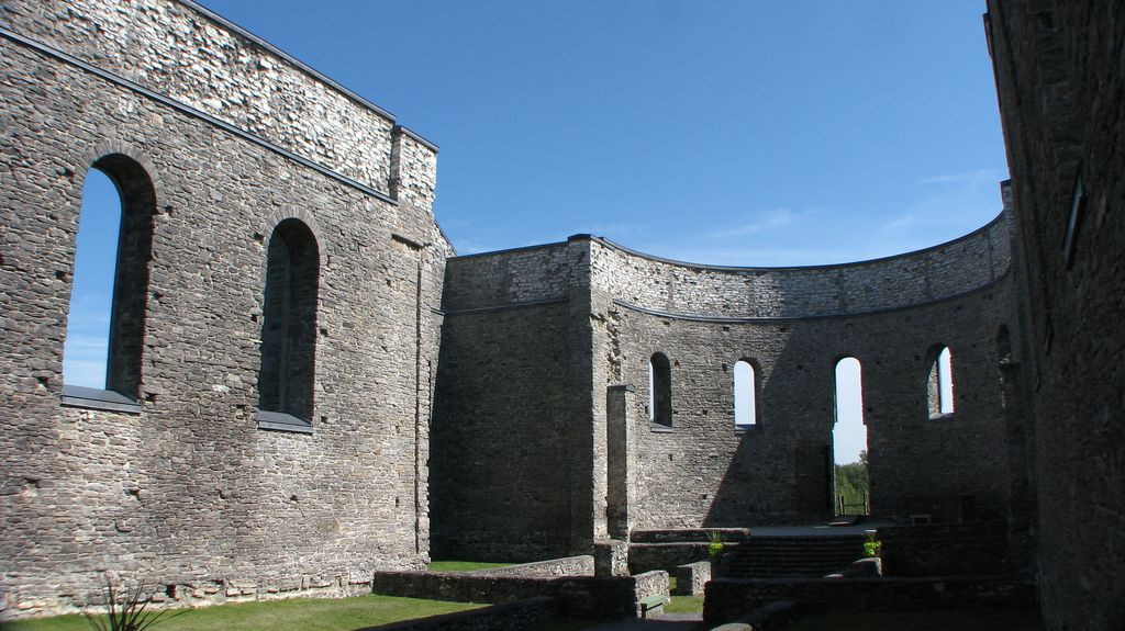 national historic site St. Raphaels Ruins in Ontario, Canada