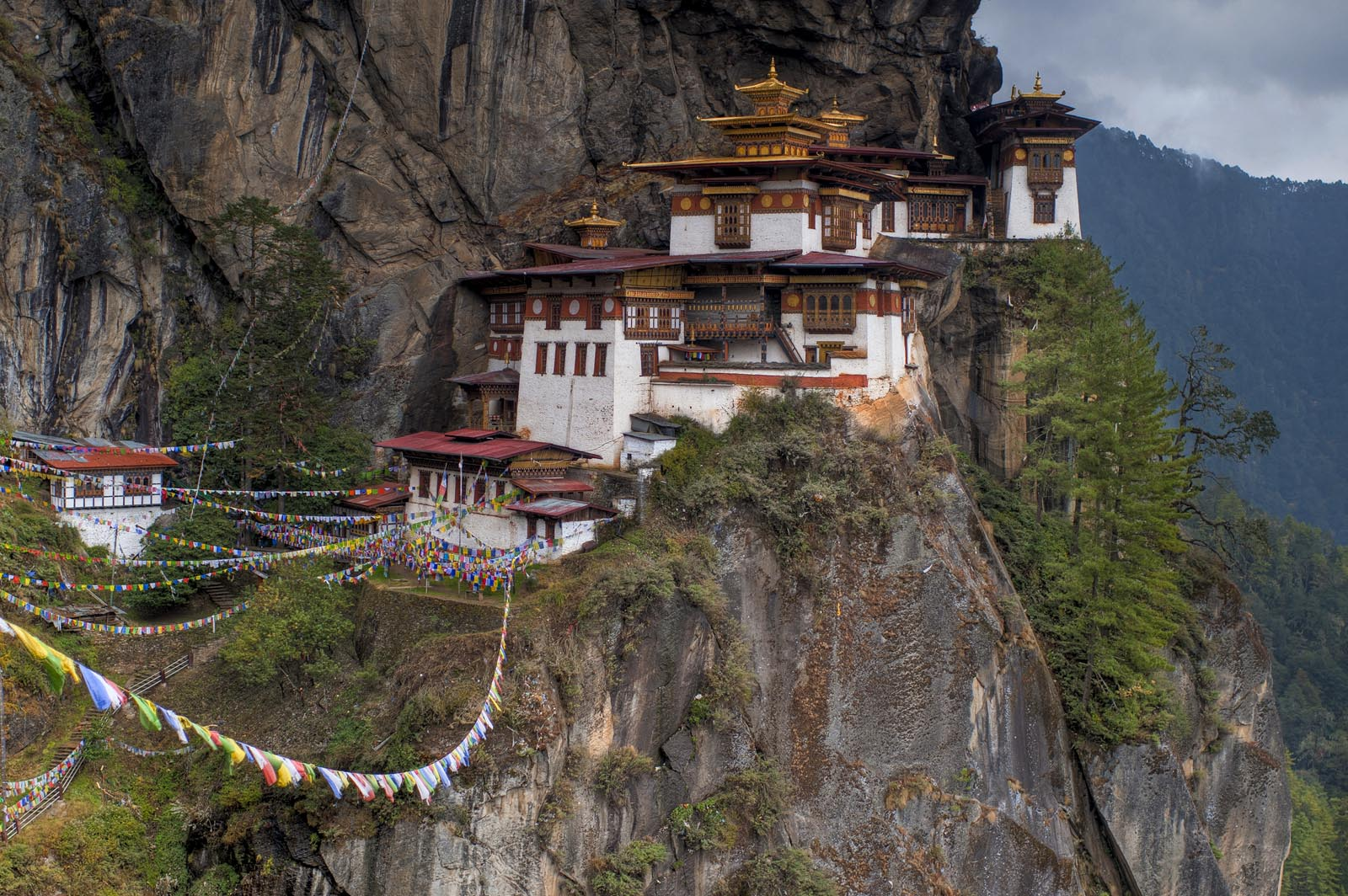 taktsang Tigers Nest in Bhutan