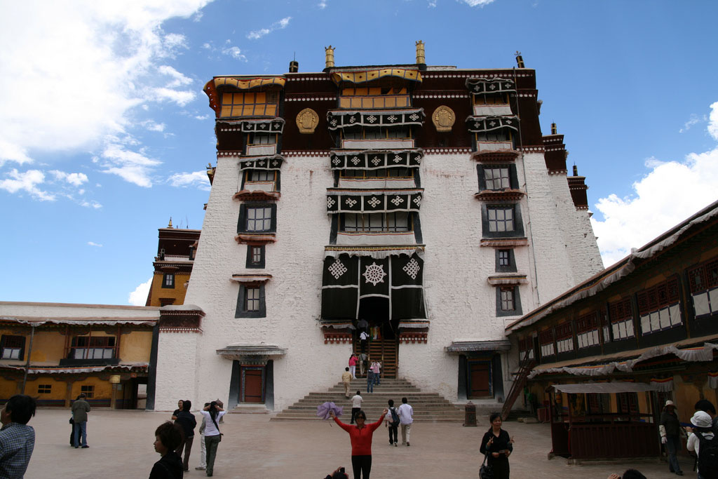 potala14 Tour of China Culture   Potala Palace, Tibet