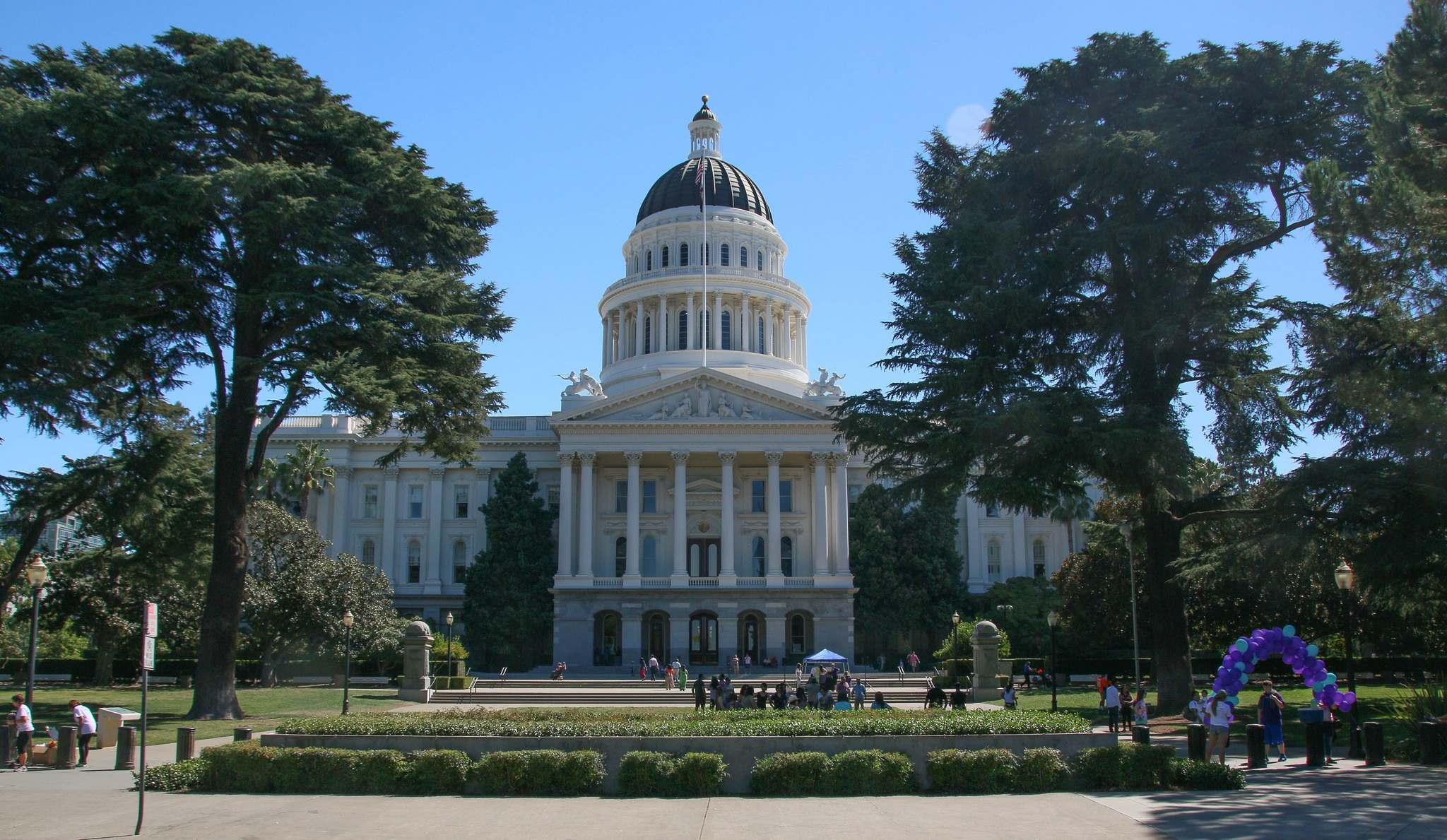 california state capitol Visiting California State Capitol