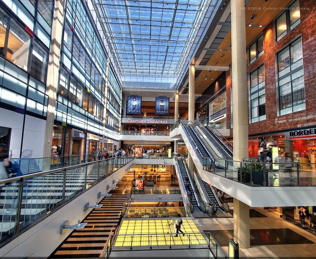 westfield shopping centre1 Westfield Shopping Centre in San Francisco