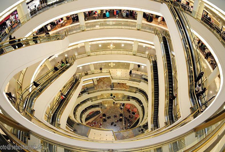 westfield shopping centre2 Westfield Shopping Centre in San Francisco