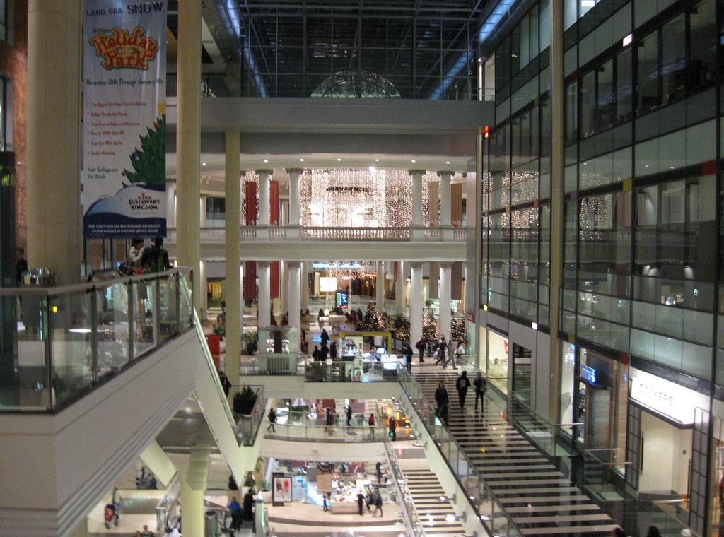 westfield shopping centre5 Westfield Shopping Centre in San Francisco
