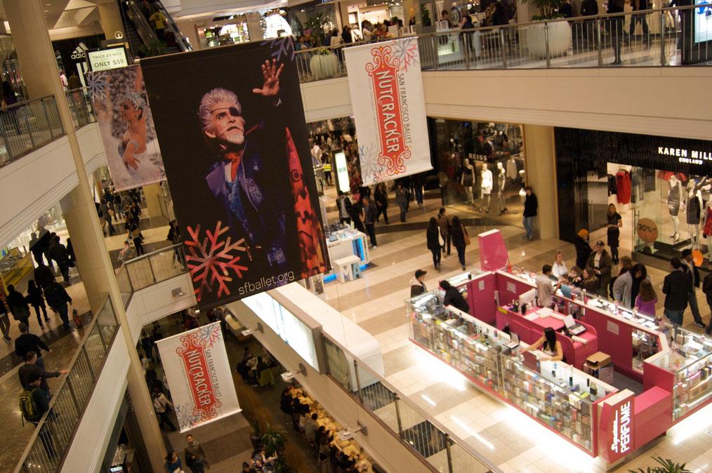 westfield shopping centre8 Westfield Shopping Centre in San Francisco