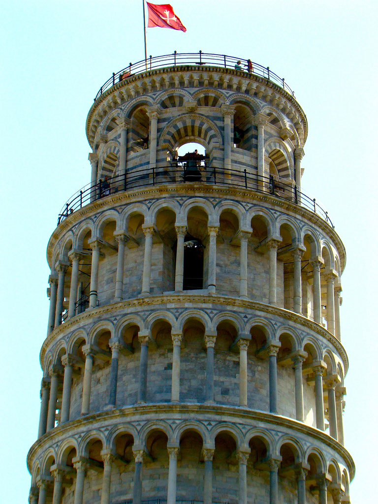 leaning tower pisa8 Why is The Tower of Pisa Leaning