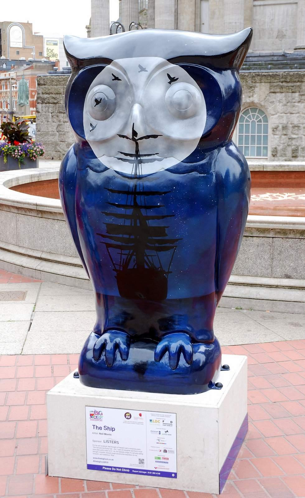 big hoot14 The 2015 Big Hoot Owls in Birmingham