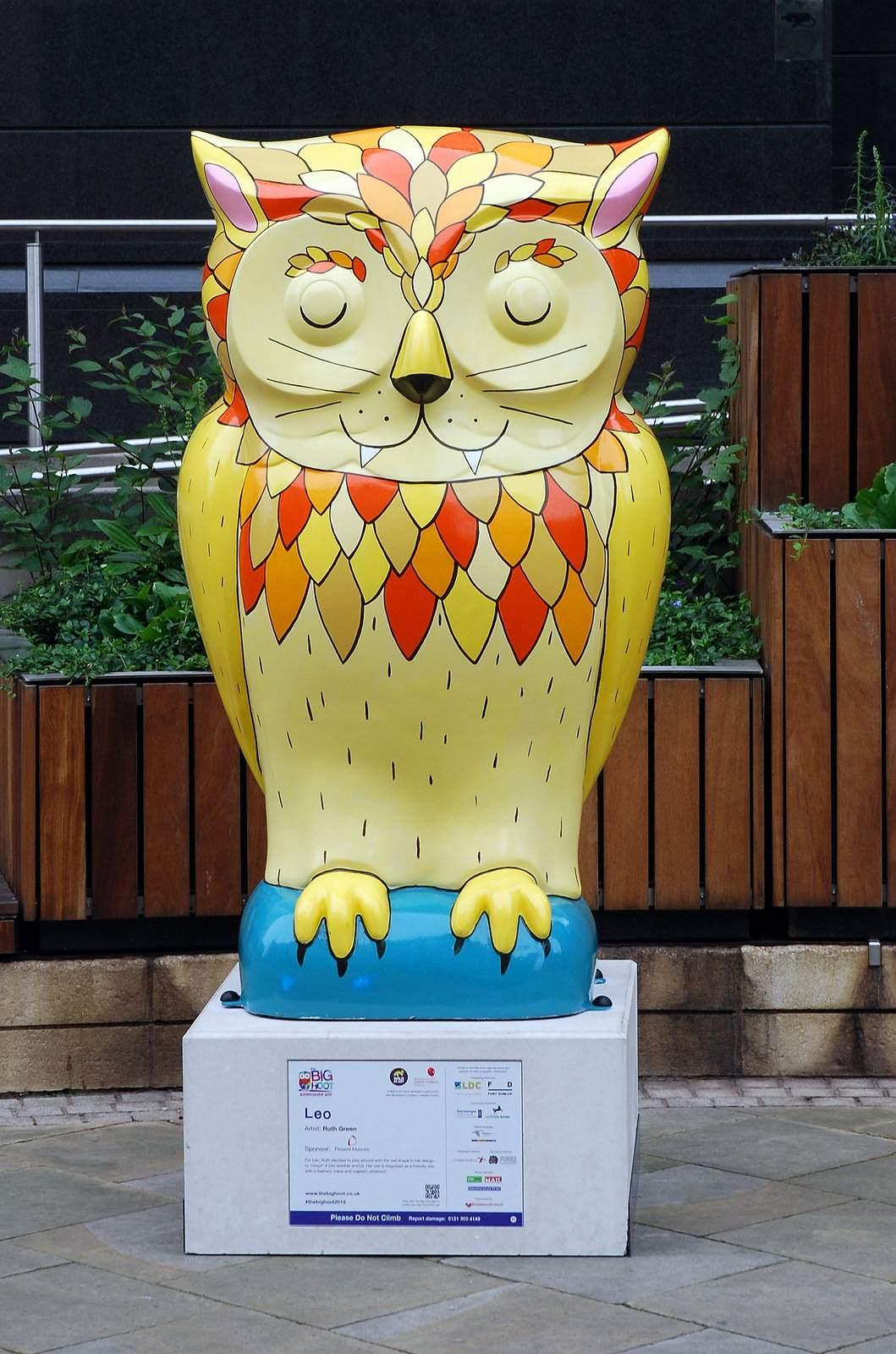 big hoot5 The 2015 Big Hoot Owls in Birmingham