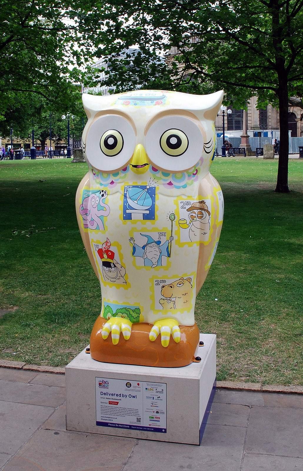 big hoot6 The 2015 Big Hoot Owls in Birmingham
