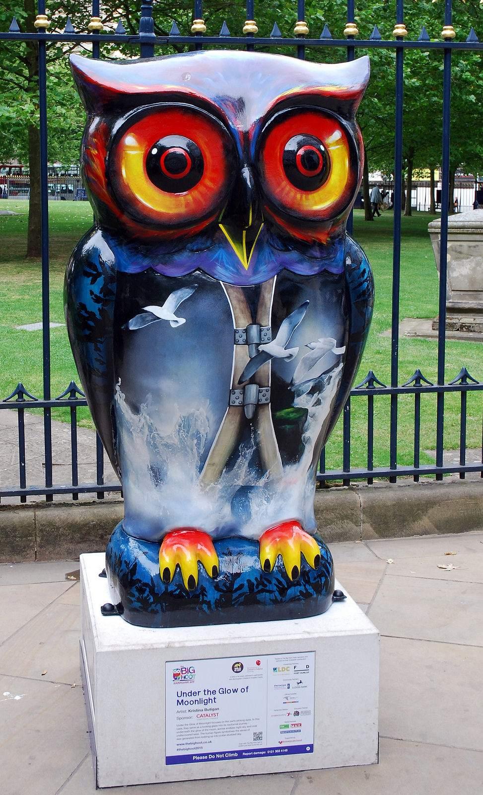big hoot8 The 2015 Big Hoot Owls in Birmingham