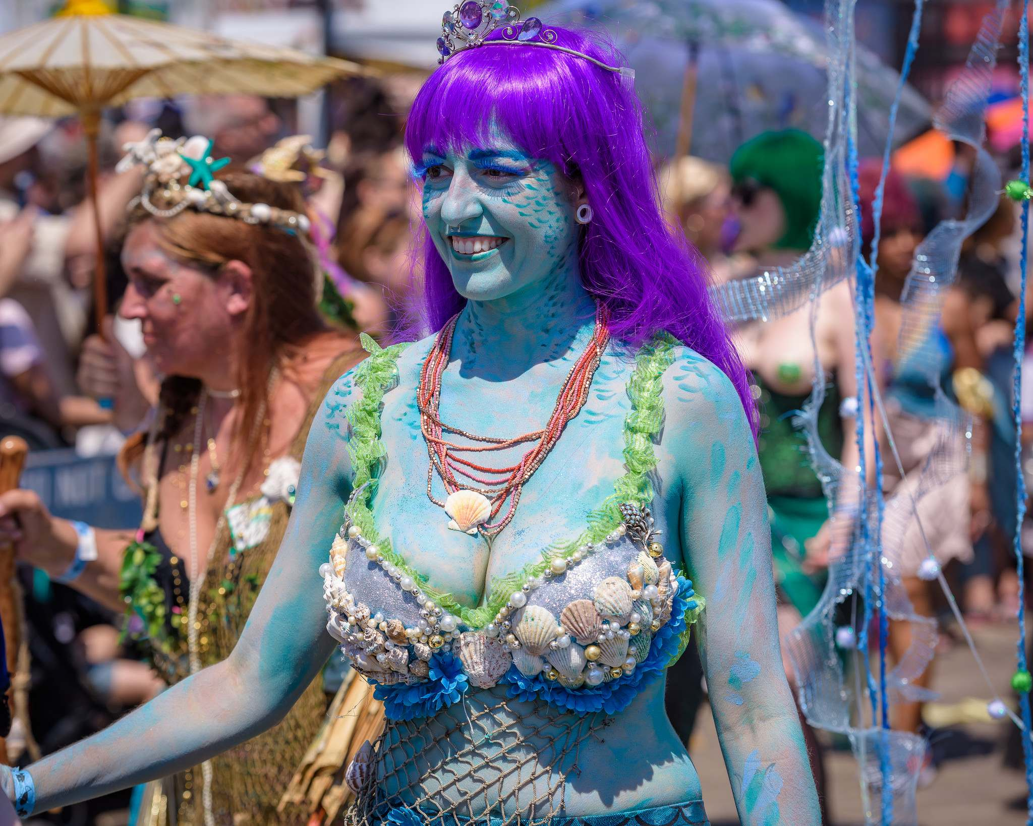 mermaid parade 2016 Coney Island Mermaid Parade in NYC