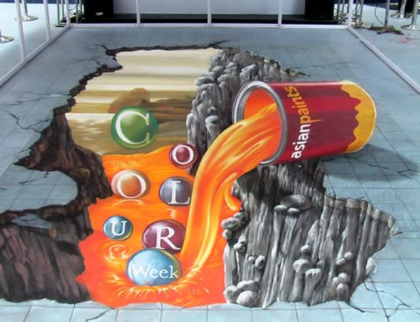 street art Amazing 3D Street Art Paintings