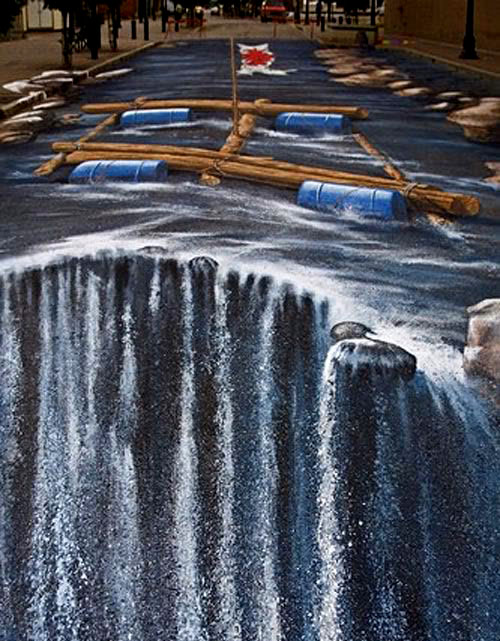 street art10 Amazing 3D Street Art Paintings