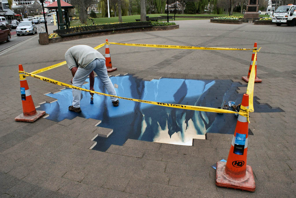 street art13 Amazing 3D Street Art Paintings